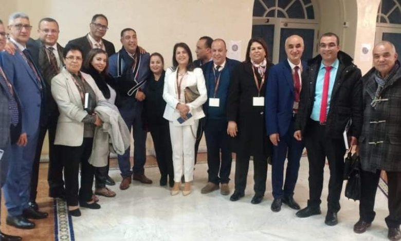 انتخاب الاستاذ النقيب عبد الواحد الأنصاري رئيسا لجمعية هيئات المحامين بالمغرب