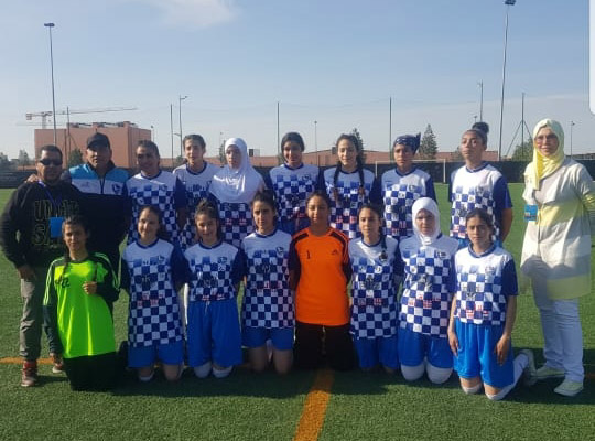 فريق اتحاد الرحامنة لكرة القدم النسوية في طريق التألق