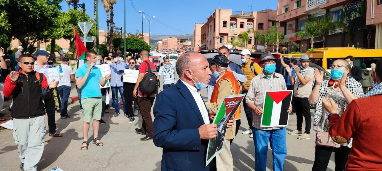 الجبهة المغربية لدعم فلسطين تدعو ليوم وطني تضامني الأحد المقبل