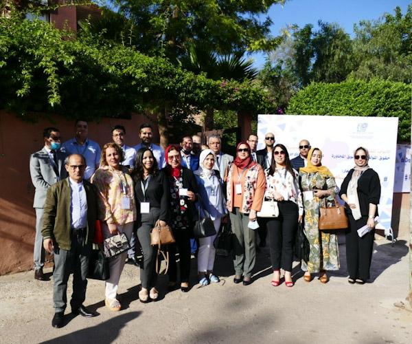 """مراكش""""  افتتاح الأبواب المفتوحة :حقوق المؤلف والحقوق المجاورة """""""