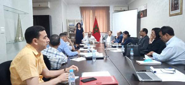 اللجنة الجهوية لحقوق الانسان بمراكش تتدارس التصميم الجهوي لاعداد التراب