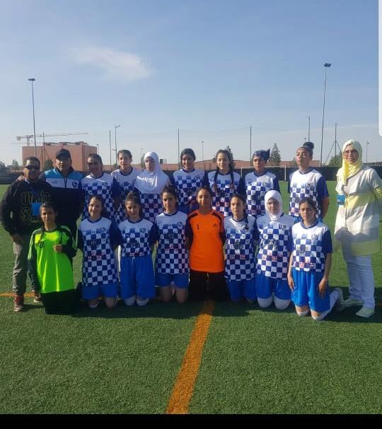 اتحاد الرحامنة لكرة القدم النسوية فريق طموح.... في طريق التألق