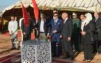 عامل إقليم الرحامنة يدشن ويعطي انطلاقة مشاريع تنموية بمناسبة الذكرى 62 لعيد الاستقلال.