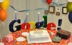 غوغل يحتفل بالذكرى ال 13 لتأسيس شركته