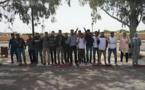 شباب ابن جرير في وقفة احتجاجية أمام مقر عمالة إقليم الرحامنة.