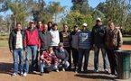 نادي شباب ابن جرير باقليم الرحامنة يحتفل بمولود جديد اتخذ له اسم نادي شباب ابن جرير للكرة الحديدية