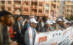 مسيرة ضد فساد الاكاديمية الجهوية لجهة بني ملال خنيفرة