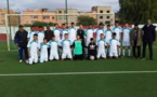 فتيان اكاديمية شباب الرحامنة لكرة القدم يتسلحون بالعزيمة.