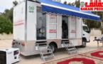 مراسيم تقديم وحدة طبية متنقلة لطب النساء و الأطفال بمقر عمالة الرحامنة