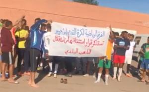 الممارسون باندية كرة القدم بابن جرير يستنكرون استثنائهم من استغلال الملعب البلدي
