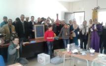 جمعية الرحامنة للتربية والتكوين البيداغوجي والأعمال الاجتماعية تنظم ورشات تربوية عملية