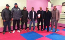 تأسيس اكاديمية شباب الرحامنة لكرة القدم بابن جرير