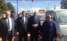 توزيع سيارات للنقل المدرسي على عشر جماعات ترابية بإقليم الحوز