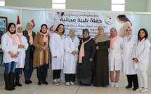 جمعية الأنامل الذهبية في حملة طبية لفائدة النساء الحوامل بخريبكة