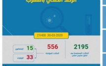 ارتفاع عدد المصابين بكورونا إلى 556 بعد ظهور 22 حالة جديدة